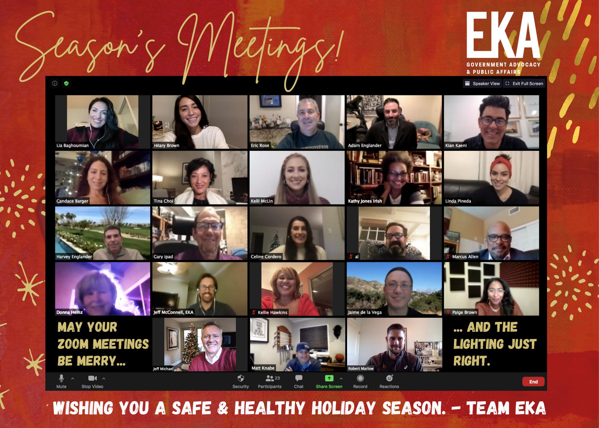 EKA 2020 Holiday Card